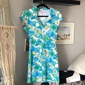Lilly Pulitzer Shell Dress Medium Like New